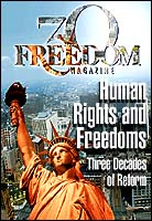 Freedom Magazine Published by the Church of Scientology since 1968